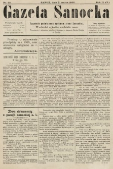 Gazeta Sanocka : tygodnik poświęcony sprawom ziemi Sanockiej. 1905, nr62