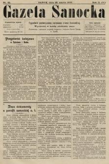 Gazeta Sanocka : tygodnik poświęcony sprawom ziemi Sanockiej. 1905, nr65