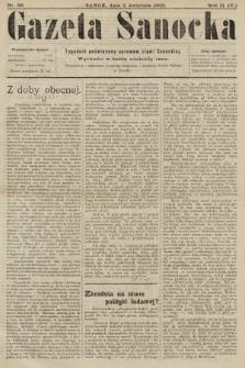 Gazeta Sanocka : tygodnik poświęcony sprawom ziemi Sanockiej. 1905, nr66