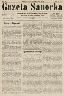 Gazeta Sanocka : tygodnik poświęcony sprawom ziemi Sanockiej. 1905, nr68