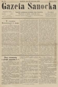 Gazeta Sanocka : tygodnik poświęcony sprawom ziemi Sanockiej. 1905, nr70