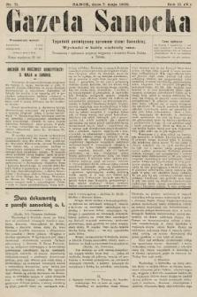 Gazeta Sanocka : tygodnik poświęcony sprawom ziemi Sanockiej. 1905, nr71