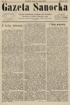 Gazeta Sanocka : tygodnik poświęcony sprawom ziemi Sanockiej. 1905, nr72