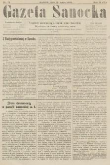 Gazeta Sanocka : tygodnik poświęcony sprawom ziemi Sanockiej. 1905, nr73