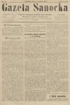 Gazeta Sanocka : tygodnik poświęcony sprawom ziemi Sanockiej. 1905, nr75
