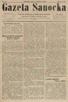 Gazeta Sanocka : tygodnik poświęcony sprawom ziemi Sanockiej. 1905, nr76