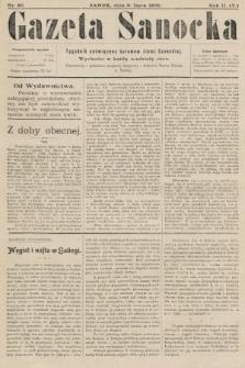 Gazeta Sanocka : tygodnik poświęcony sprawom ziemi Sanockiej. 1905, nr80