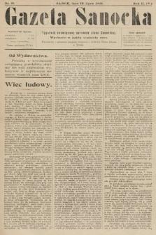 Gazeta Sanocka : tygodnik poświęcony sprawom ziemi Sanockiej. 1905, nr81