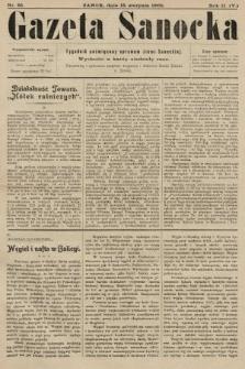 Gazeta Sanocka : tygodnik poświęcony sprawom ziemi Sanockiej. 1905, nr85