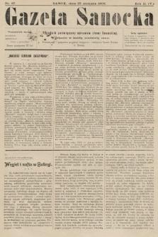 Gazeta Sanocka : tygodnik poświęcony sprawom ziemi Sanockiej. 1905, nr87