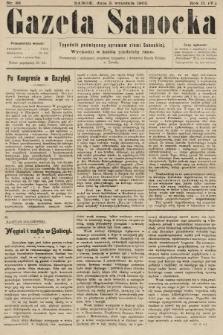 Gazeta Sanocka : tygodnik poświęcony sprawom ziemi Sanockiej. 1905, nr88