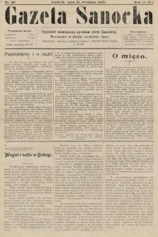 Gazeta Sanocka : tygodnik poświęcony sprawom ziemi Sanockiej. 1905, nr89