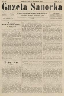 Gazeta Sanocka : tygodnik poświęcony sprawom ziemi Sanockiej. 1905, nr90