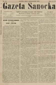 Gazeta Sanocka : tygodnik poświęcony sprawom ziemi Sanockiej. 1905, nr92