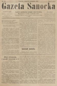 Gazeta Sanocka : tygodnik poświęcony sprawom ziemi Sanockiej. 1905, nr99