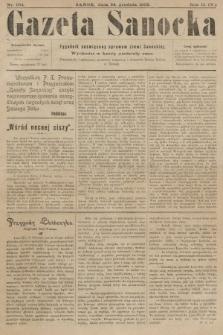 Gazeta Sanocka : tygodnik poświęcony sprawom ziemi Sanockiej. 1905, nr104