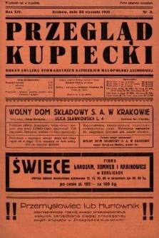 Przegląd Kupiecki : organ Związku Stowarzyszeń Kupieckich Małopolski Zachodniej. 1931, nr3