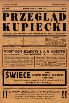 Przegląd Kupiecki : organ Związku Stowarzyszeń Kupieckich Małopolski Zachodniej. 1931, nr5