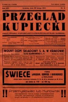 Przegląd Kupiecki : organ Związku Stowarzyszeń Kupieckich Małopolski Zachodniej. 1931, nr6