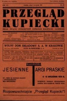 Przegląd Kupiecki : organ Związku Stowarzyszeń Kupieckich Małopolski Zachodniej. 1931, nr26