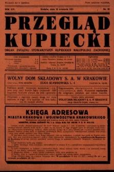 Przegląd Kupiecki : organ Związku Stowarzyszeń Kupieckich Małopolski Zachodniej. 1931, nr28