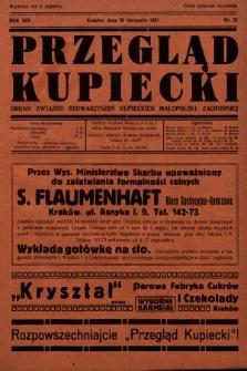 Przegląd Kupiecki : organ Związku Stowarzyszeń Kupieckich Małopolski Zachodniej. 1931, nr35
