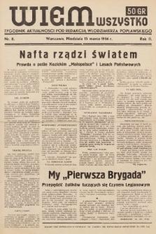 Wiem Wszystko : informacyjny tygodnik aktualności. 1936, nr8
