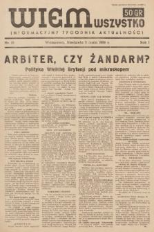 Wiem Wszystko : informacyjny tygodnik aktualności. 1936, nr15