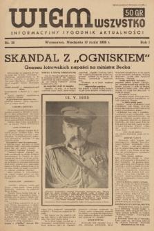 Wiem Wszystko : informacyjny tygodnik aktualności. 1936, nr16