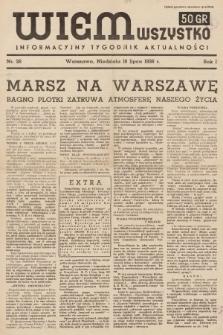 Wiem Wszystko : informacyjny tygodnik aktualności. 1936, nr26