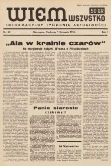 Wiem Wszystko : informacyjny tygodnik aktualności. 1936, nr42