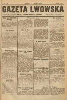 Gazeta Lwowska. 1926, nr34