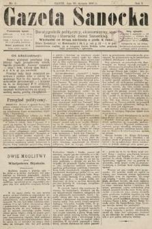 Gazeta Sanocka : dwutygodnik polityczny, ekonomiczny, społeczny i literacki ziemi Sanockiej. 1895, nr2