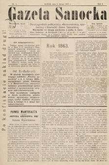 Gazeta Sanocka : dwutygodnik polityczny, ekonomiczny, społeczny i literacki ziemi Sanockiej. 1895, nr3