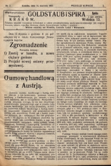 Przegląd Kupiecki : [organ Krakowskiego Stowarzyszenia Kupców]. 1922, nr2