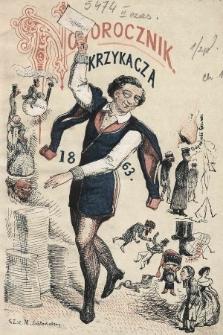 Humorystyczno-Satyryczny Noworocznik Krzykacza : na rok 1863