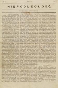 Niepodległość. 1863, nr10