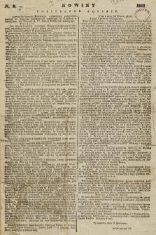 Nowiny Polityczne Polskie. 1863, nr2