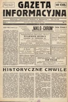 Gazeta Informacyjna. 1938, nr1