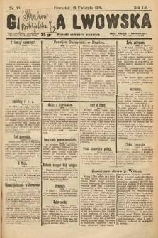 Gazeta Lwowska. 1926, nr85