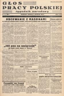 Głos Pracy Polskiej : tygodnik narodowy. 1938, nr19
