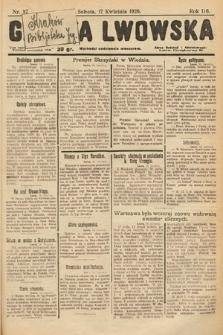 Gazeta Lwowska. 1926, nr87