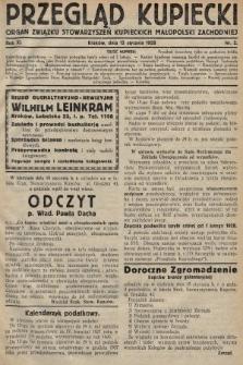Przegląd Kupiecki : organ Związku Stowarzyszeń Kupieckich Małopolski Zachodniej. 1928, nr2