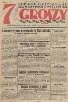 7 Groszy : dziennik ilustrowany dla wszystkich o wszystkiem. 1933, nr11