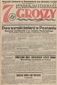 7 Groszy : dziennik ilustrowany dla wszystkich o wszystkiem. 1933, nr18