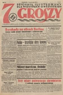 7 Groszy : dziennik ilustrowany dla wszystkich o wszystkiem. 1933, nr23