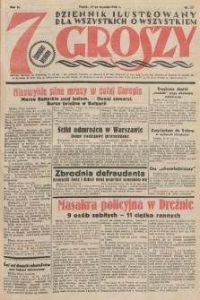 7 Groszy : dziennik ilustrowany dla wszystkich o wszystkiem. 1933, nr27