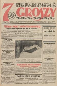 7 Groszy : dziennik ilustrowany dla wszystkich o wszystkiem. 1933, nr28