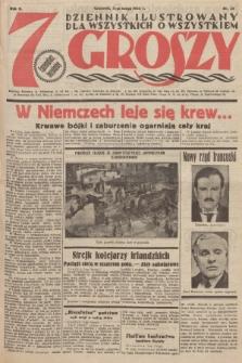 7 Groszy : dziennik ilustrowany dla wszystkich o wszystkiem. 1933, nr33