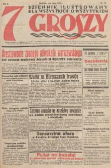 7 Groszy : dziennik ilustrowany dla wszystkich o wszystkiem. 1933, nr36
